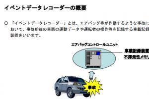 EDR 事故情報記録装置